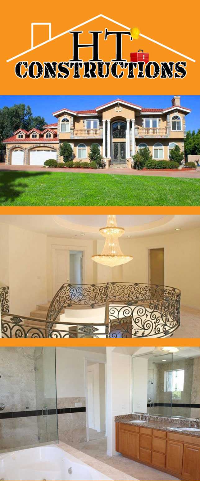 Los Angeles General Contractor HT Constructions Home Design and Remodeling Services On Sale Now