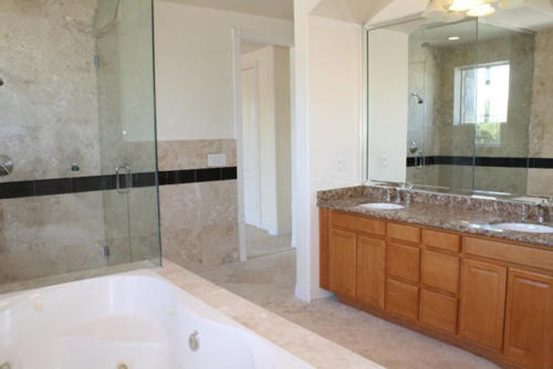 Master bathroom house remodeling by HT Constructions in Chatsworth, Los Angeles, CA