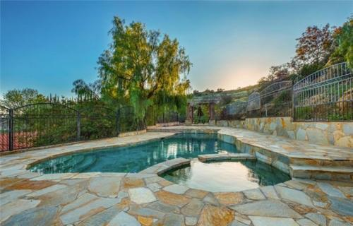 Pool construction project with gazebo by HT Constructions in Chatsworth, Los Angeles, CA