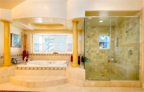 Master bathroom redesign and house remodeling by HT Constructions